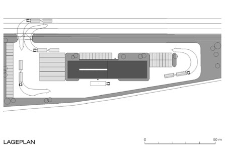 Wiener Neustadt Customs Office - site plan