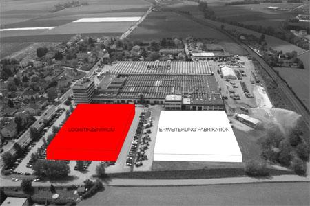 Rosenbauer Logistikzentrum - Erweiterungskonzept
