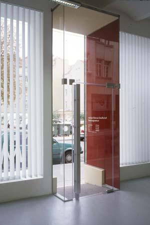 MS-Beratungszentrum - Eingang