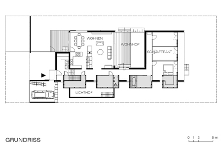 House on Steinfeld - floor plan