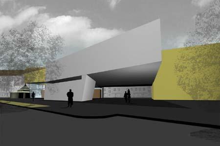 Zentrum Simmeringer Markt - Visualisierung 2