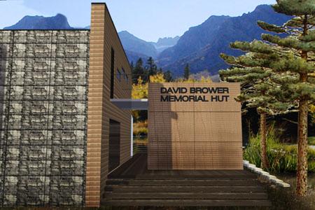 Mountain Hut - Blick zum Eingang
