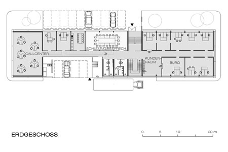 Wiener Neustadt Customs Office - floor plan
