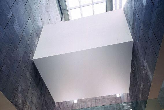 MUMOK Umbau - White Cube in der Aula