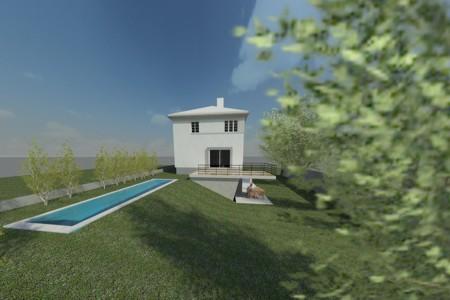 Haus am Maurer Berg - Visualisierung Süd
