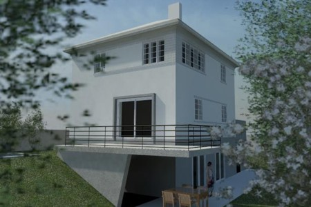 House on Hill Mauer - garden rendering