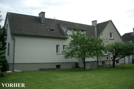 Haus ohne Dach - vorher
