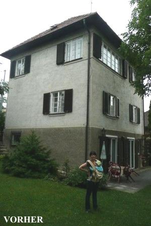 Haus am Maurer Berg - vorher