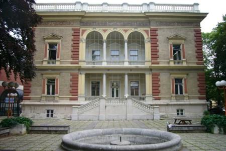 Burkhardvilla - existing facade