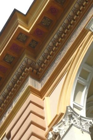 Burkhardvilla - restored detail