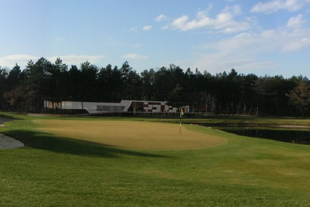 Foehrenwald Golf Club - view from the green