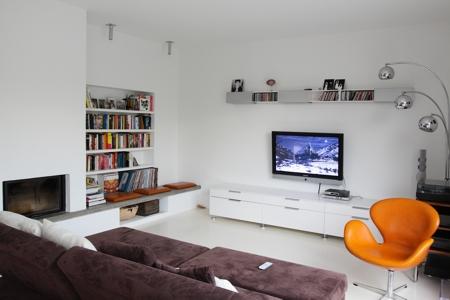 Haus für eine Fußballmannschaft - Wohnzimmer