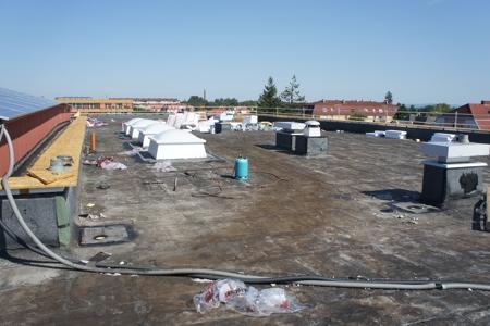 HAK Baden - Dachsanierung 1