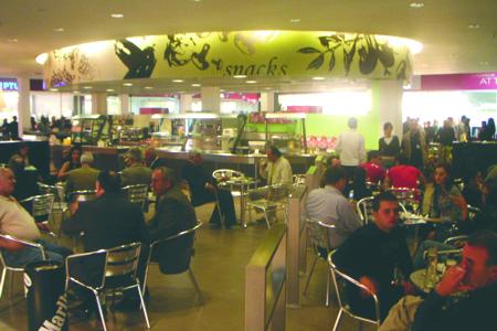 QTU Tirana - Foodcourt