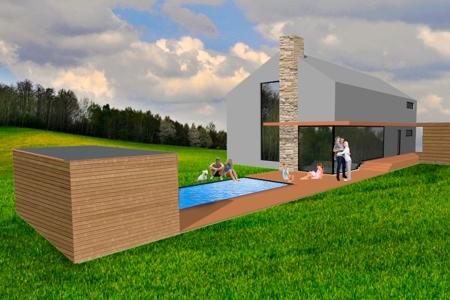 Haus mit Traunstein-Blick - Süd