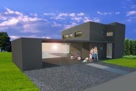 Haus für einen Sohn - Straße
