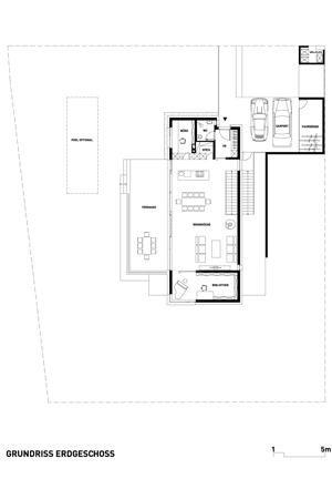 Haus mit Blick auf Starhemberg - Grundriss