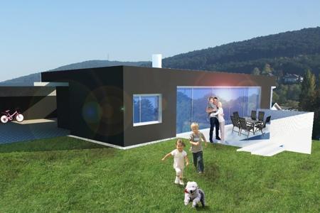 Haus mit Blick auf Starhemberg - Nordwest