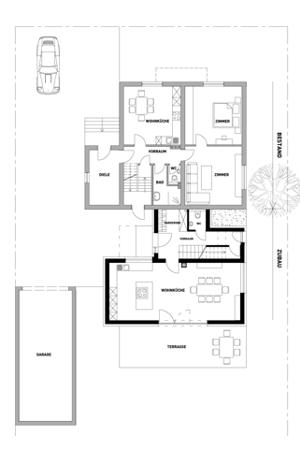 Haus hinterm Haus - Grundriss