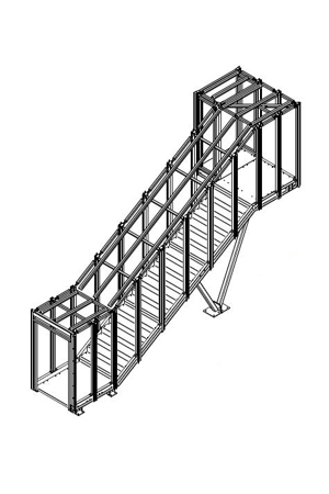 Seal Maker External Staircase - Construction