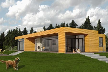 Haus am Schrändlsee - Blick von der Einfahrt