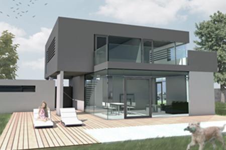 Haus für einen Junggesellen - Blick vom Pool
