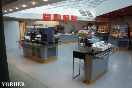 Lottorant Betriebsrestaurant - vorher