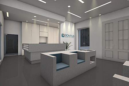 Bontus Immobilienverwaltung - Empfang Visualisierung 2