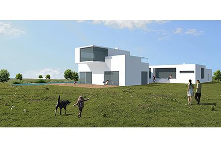 Haus für Unentschlossene - Visualisierung - Variante1