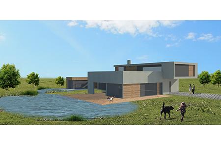 Haus für Unentschlossene - Visualisierung - Variante2