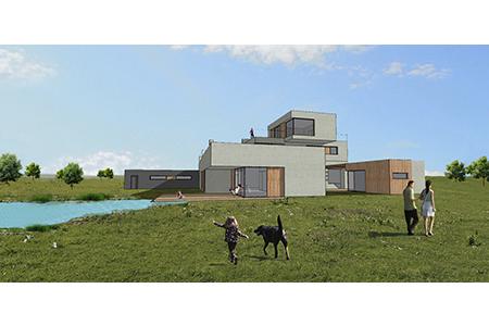 Haus für Unentschlossene - Visualisierung - Variante4