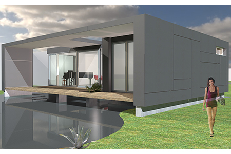 Haus am See - Visualisierung