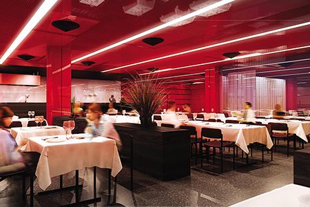 UNO-City Betriebsrestaurant - Visualisierung