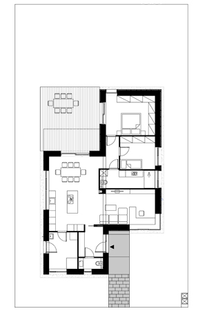 Haus für 2 - Grundriss