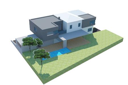 Haus mal 2 - Blick von oben