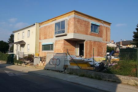 Haus mal 2 im Bau