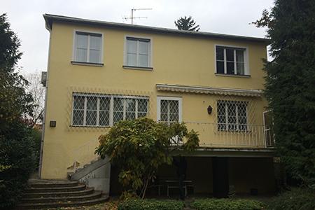 Haus in Lainz - Bestand