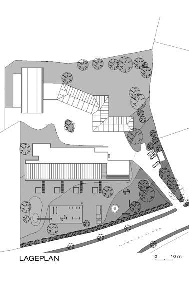 Kindergarten Forchtenstein - Lageplan