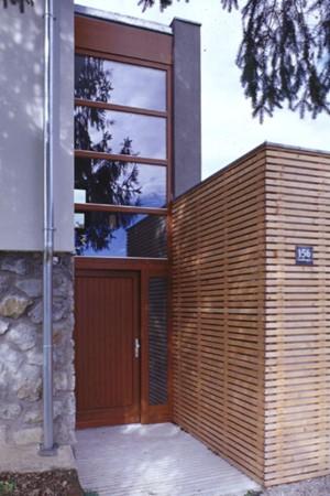 Haus an der Rosalia - Eingang