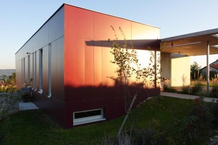 Haus mit Panorama - Wohntrakt