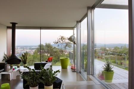 Haus mit Panorama - Panorama aus dem Wohnraum