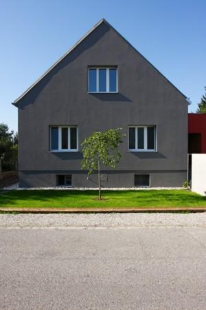 Haus ohne Dach - Giebelfront straßenseitig