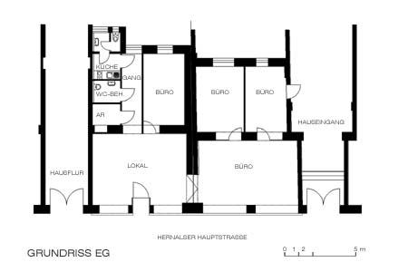 MS-Zentrum - Grundriss