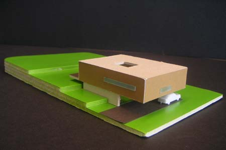Kartenhaus - Architekturmodell