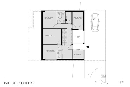 House of Cards - floor plan - basement