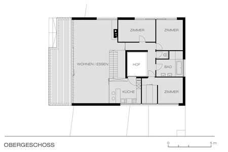 House of Cards - floor plan - ground floor